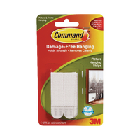 Image for 3M Command Medium Picture Hanging Strips (4 Pack) 17201-4PK