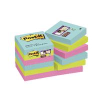 Post-it Super Sticky Notes Miami 47.6x47.6mm 622-12SS-MIA