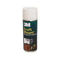 Image for 3M CraftMount Aerosol Adhesive 400ml ARTHOBBY