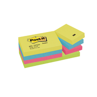 Image for Post-it 38x51mm Energy Colours Notes (12 Pack) 653TF