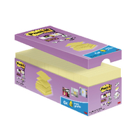 Post-it Super Sticky 76x76mm Canary Yellow Z-Notes (20 Pack) R330-SSCY-VP20