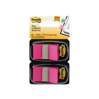 Post-It Pink Index Dispenser Dual Pack (100 Pack) 680-BP2EU