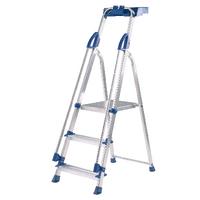 Abru Blue Seal 3 Tread Professional Aluminium Step Ladder 70503