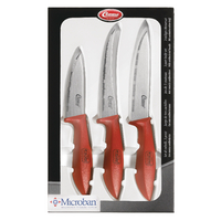 Clauss 3 Piece Paring, Vegetable and Utility Kitchen Knife Set CL-80000