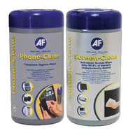Image for AF Phone-Clene/Screen-Clene Wipes Tub Bundle APHCSCR100T