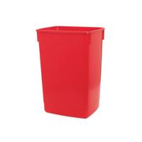 Addis Red 60 Litre Flip Top Bin Base 510899