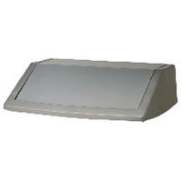 Addis Metallic Grey 60 Litre Flip Top Bin Lid 504895