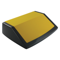 Addis Red/Yellow/Blue Recycling Bin Kit Lids Metallic (3 Pack) 505575