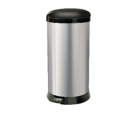 Addis Stainless Steel 30 Litre Soft Close Pedal Bin 507650