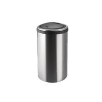 Addis 40 Litre Deluxe Stainless Steel D Shape Bin 513866