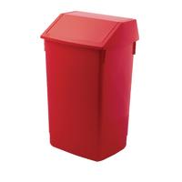 Addis Red 60 Litre Fliptop Bin