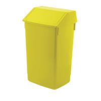 Addis Yellow 60 Litre Fliptop Bin