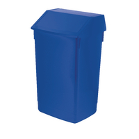 Addis Blue 60 Litre Fliptop Bin