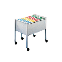 Image for Durable Grey Foolscap Filing Trolley 3097-10