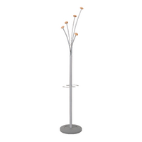 Image for Alba Festival Metal/Wood Coat Stand PMFEST