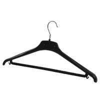 Alba Black Plastic Coat Hanger (20 Pack) PMBASICPL
