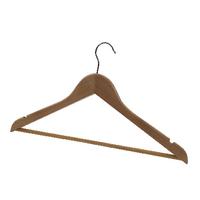 Alba Wooden Coat Hanger (25 Pack) PMBASICBO