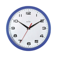 Acctim Blue Aylesbury Wall Clock 92/308