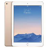Image for Apple 9.7in iPad Air 2 Wi-Fi + Cellular 128GB Gold MH1G2B/A