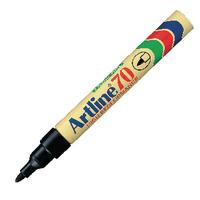 Image for Artline 70 Permanent Marker Bullet Tip Black (12 Pack) A701