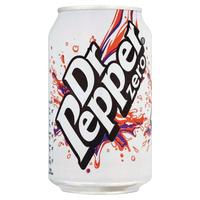 Dr Pepper Zero 330ml Cans (24 Pack) 0402053