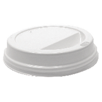 35cl White Lids for Rippled Hot Cup (1000 Pack) HHLIDS12