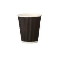 25cl Black Ripple Cup (500 Pack) HVRWBPA08