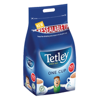 Tetley One Cup Tea Bags Catering Pack (1100 Pack) 1018K