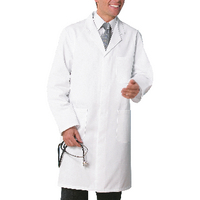 Image for Alexandra Large White Mens Coat 108cm Chest WL001WH108