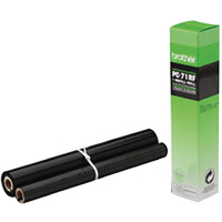 Image for Brother Thermal Transfer Black Ribbon Ink Film PC71RF