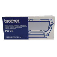 Image for Brother Thermal Transfer Black Ribbon Ink Film PC75