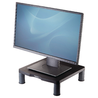 Fellowes Standard Monitor Riser Graphite 9169301 Claim a Fellowes Reward