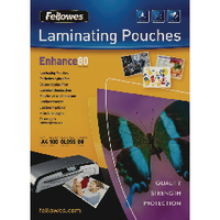 Fellowes A5 Laminating Pouches 160 Micron (100 Pack) 5306001