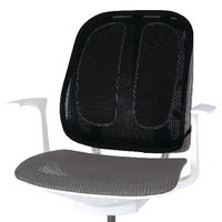 Fellowes Office Suites Black Mesh Back Support 9191301 Claim a Fellowes Reward