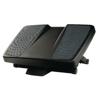 Image for Fellowes Professional Series Black Ultimate Foot Rest 8067001