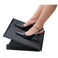 Image for Fellowes Professional Series Black Heavy Duty Foot Rest 8064101