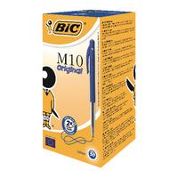 Image for Bic Clic Retractable Medium Blue Ballpoint Pen (50 Pack) 901218