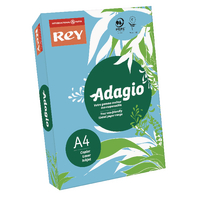 Image for Adagio Bright Blue A4 Coloured Card 160gsm (250 Pack) 201.1211