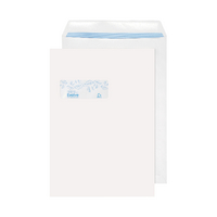 Evolve Recycled Window C4 Envelope Self Seal 100gsm White (250 Pack) RD7892
