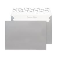 Metallic Silver C5 Wallet Envelope Peel and Seal 130gsm (250 Pack) 312