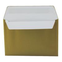 Metallic Gold C6 Wallet Envelope Peel and Seal 130gsm (250 Pack) 113