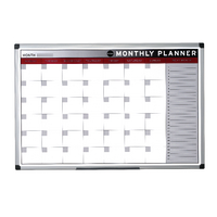 Bi-Office Magn 900x600mm Month Planner