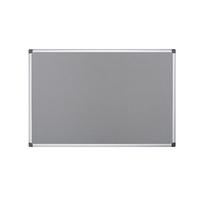 Bi-Office 900x600mm Grey Felt Board FA0342170