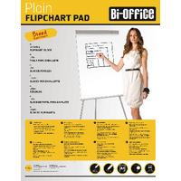 Image for Bi-Office White A1 Plain Flipchart Pads (5 Pack) FL010101