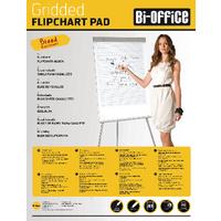 Image for Bi-Office White A1 Gridded Flipchart Pads (5 Pack) FL012301