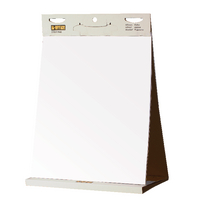 Image for Bi-Office Table Top Self-Stick Flipchart Pad 585x500mm 20 Sheets White FL148303