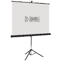 Image for Bi-Office Black Tripod 1750mm Projection Screen 9D006021