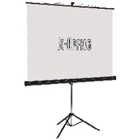 Image for Bi-Office Black Tripod 1500mm Projection Screen 9D006020