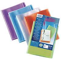 Image for Elba Polyvision A4 20 Pocket Display Book (12 Pack) 100206086