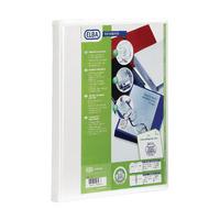 Elba White A4 Pres 2D 50mm Binder Pk4